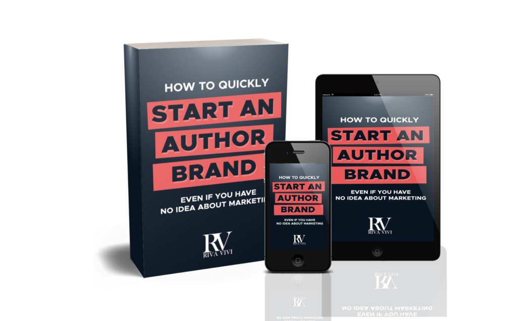 Start building your author brand